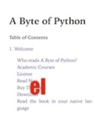Ένα byte της Python