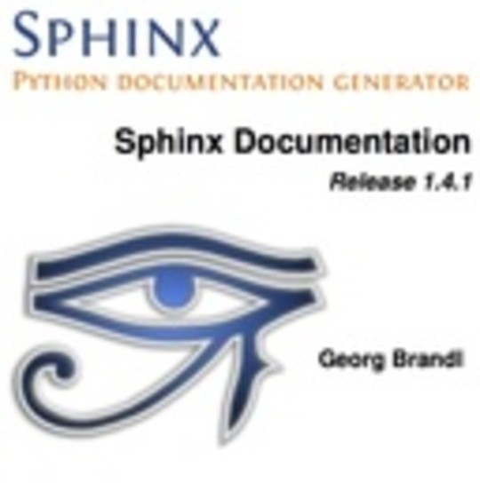 Sphinx Python Documentation Generator: Documentation