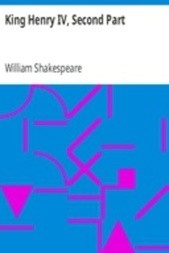 King Henry IV, Second Part