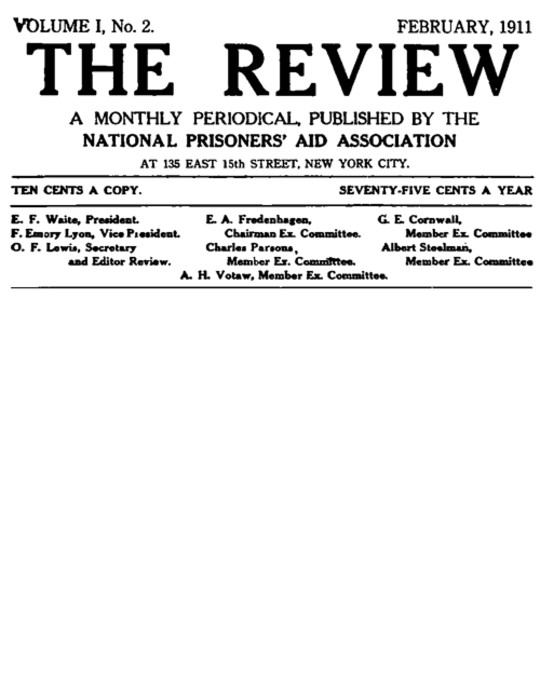 The Review, Vol. I, No. 2 (1911)