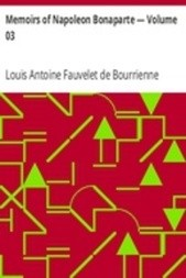 Memoirs of Napoleon Bonaparte — Volume 03
