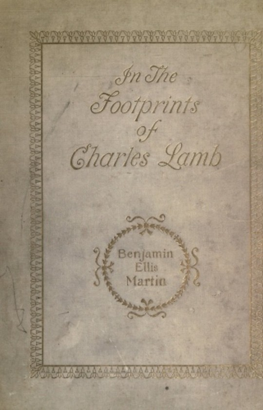 In the Footprints of Charles Lamb