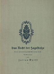 Das Recht der Hagestolze Eine Heiratsgeschichte aus dem Neckartal
