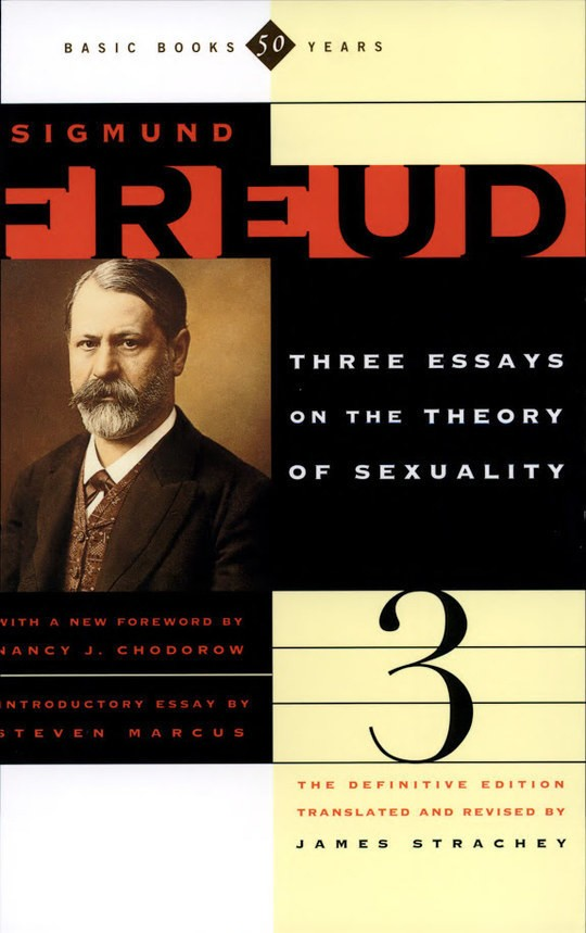 3 essays on the theory of sexuality freud According to james strachey, the three essays on the theory of sexuality should be considered, after the interpretation of dreams, to be sigmund in the last of the three essays, freud described the the transformations of puberty in the 1905 edition, this essay might have seemed less original.