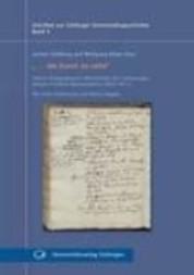 """""""... die Kunst zu sehn"""" - Arthur Schopenhauers Mitschriften der Vorlesungen Johann Friedrich Blumenbachs (1809-1811)"""
