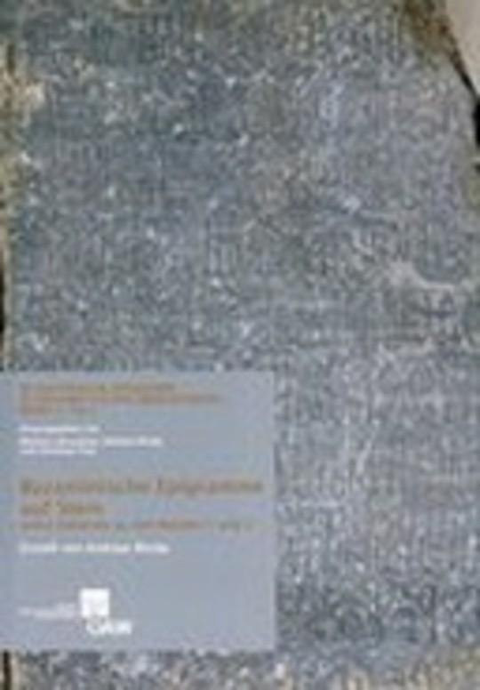 Byzantinische Epigramme in inschriftlicher Überlieferung