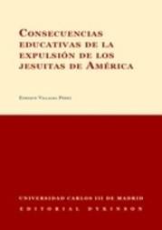 Consecuencias educativas de la expulsión de los jesuitas de América