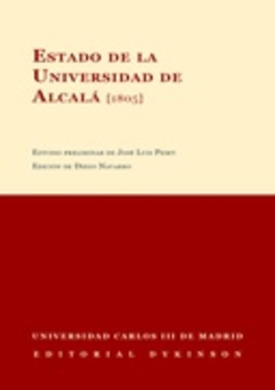 Estado de la Universidad de Alcalá (1805)