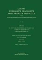 Galeni in Hippocratis Epidemiarum Librum II Commentariorum I-iii Versio Arabica