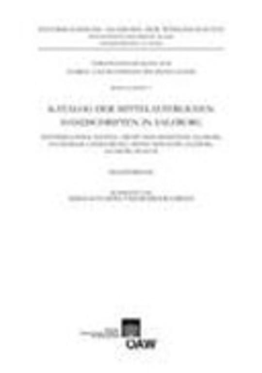 Katalog Der Mittelalterlichen Handschriften in Salzburg