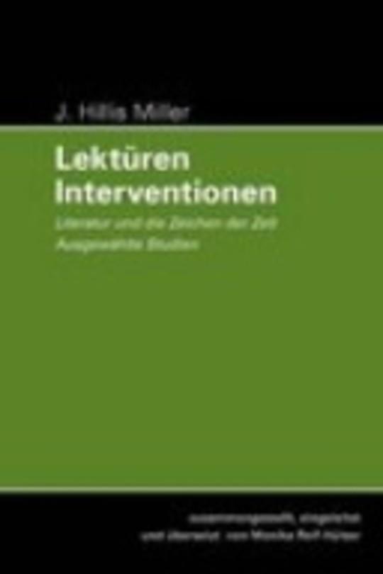 Lektüren - Interventionen