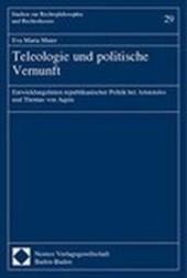 Teleologie und politische Vernunft