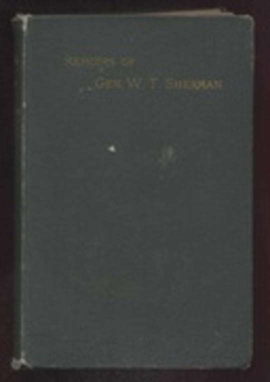 Memoirs of General W. T. Sherman, Volume II., Part 3