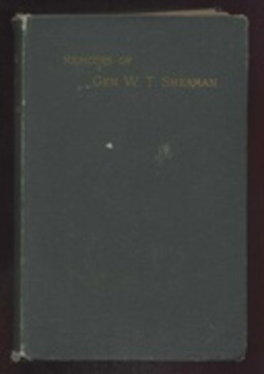 Memoirs of General W. T. Sherman, Volume I., Part 2