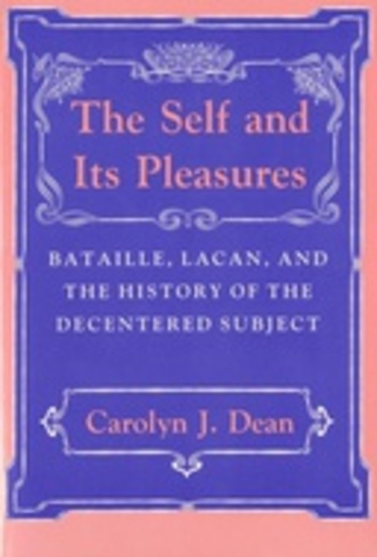 The Self and Its Pleasures