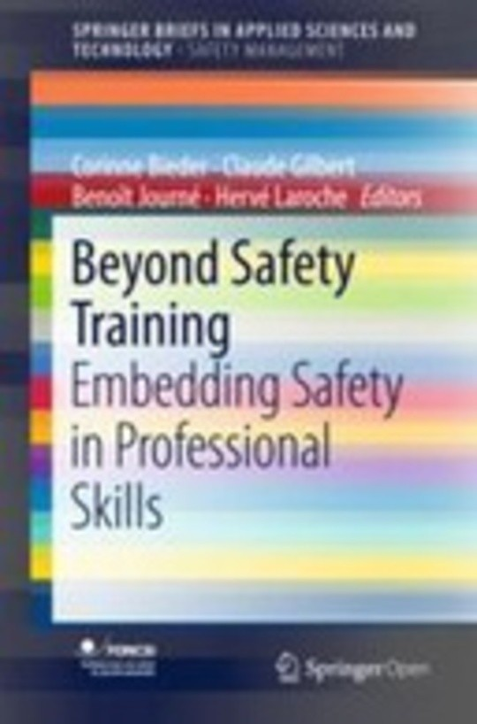 Beyond Safety Training: Embedding Safety in Professional Skills