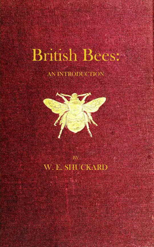 British Bees An Introduction into the Studies of the Natural History and Economy of the Bees Indigenous to the British Isles