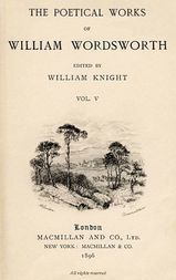 The Poetical Works of William Wordsworth, Volume 5 (of 8)