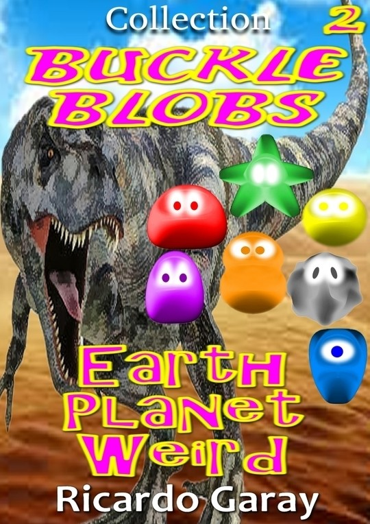 Collection Buckle Blobs - Earth planet weird
