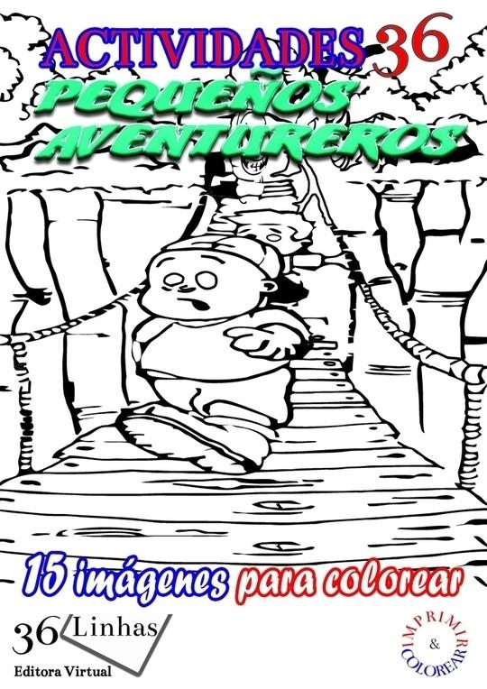 Actividades36 - Pequeños Aventureros - vol1