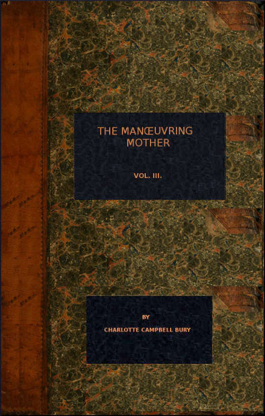 The Manoeuvring Mother Vol. III.