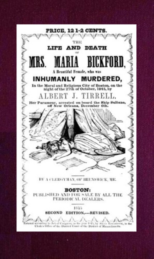 The Life and Death of Mrs. Maria Bickford