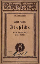 Nietzsche Sein Leben und seine Lehre