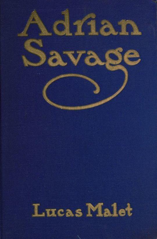 Adrian Savage A Novel
