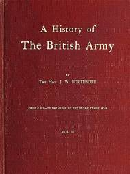 A History of the British Army Vol. 2 (of 2)