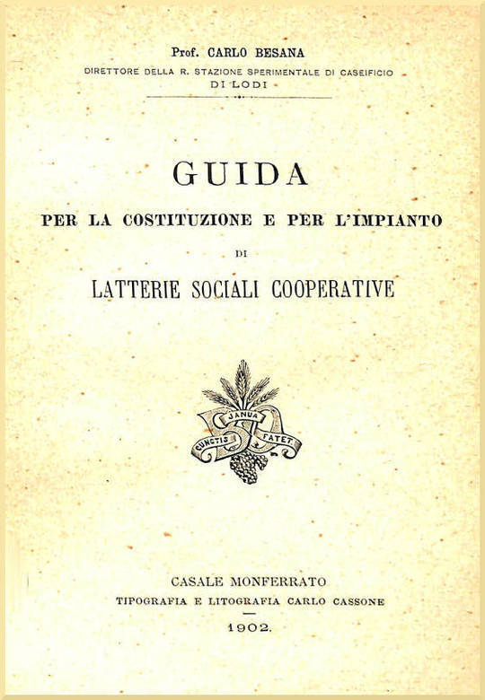 Guida per la costituzione e per l'impianto di latterie sociali cooperative