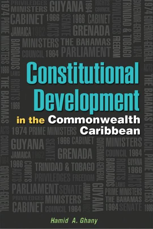 Constitutional Development in the Commonwealth Caribbean