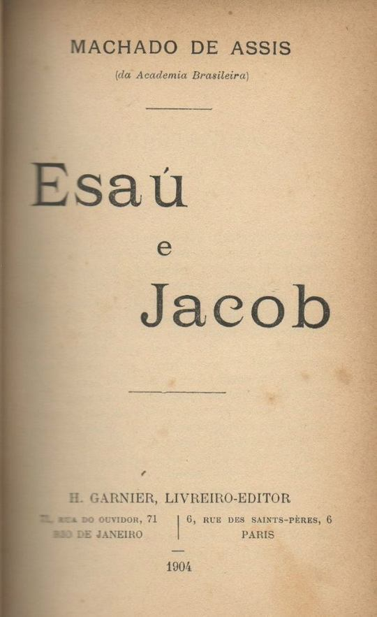 Esau e Jacob