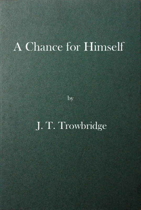 A Chance for Himself or Jack Hazard and His Treasure