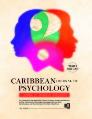 Caribbean Journal of Psychology: Our Throw Away Children: Extending and Developing Cognitive Behavioural Therapy Interventions for High-Risk Populations in the Caribbean