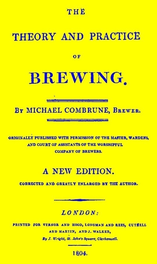 The Theory and Practice of Brewing