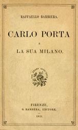 Carlo Porta e la sua Milano