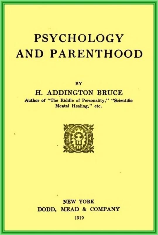 Psychology and parenthood