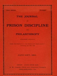 The Journal of Prison Discipline and Philanthropy (New Series, No. 40)