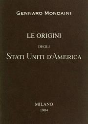 Le origini degli Stati Uniti d'America