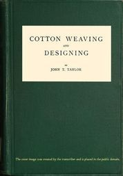 Cotton Weaving and Designing 6th Edition