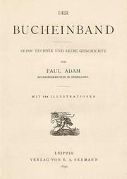 Der Bucheinband Seine Technik und seine Geschichte