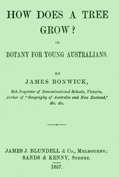How Does a Tree Grow? Botany for Young Australians