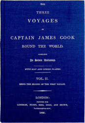 The Three Voyages of Captain Cook Round the World. Vol. II. Being the Second of the First Voyage