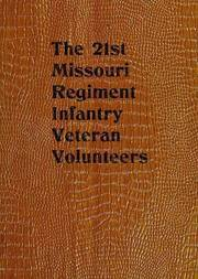 The 21st Missouri Regiment Infantry Veteran Volunteers Historical Memoranda
