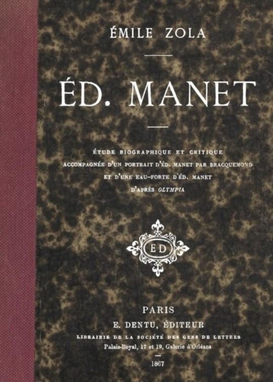Ed. Manet: étude biographique et critique