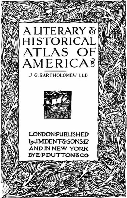 A Literary & Historical Atlas of America