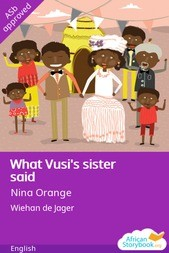 What Vusi's sister said