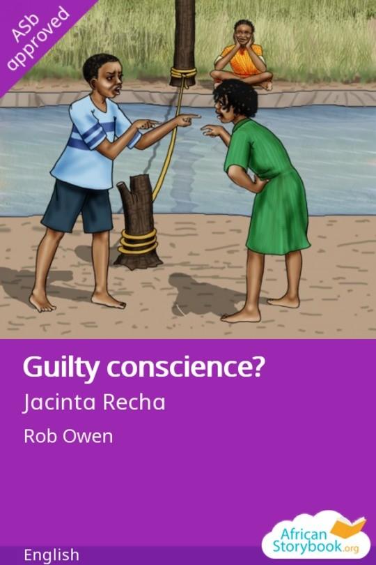 Guilty conscience?