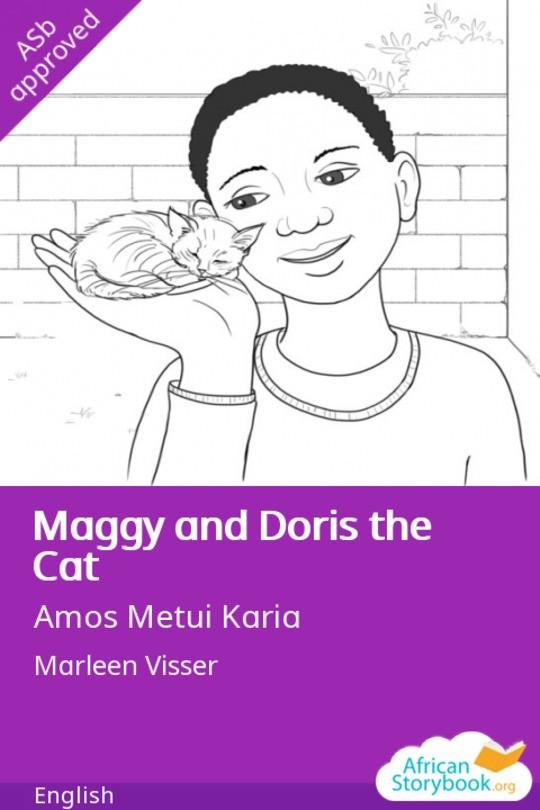 Maggy and Doris the Cat