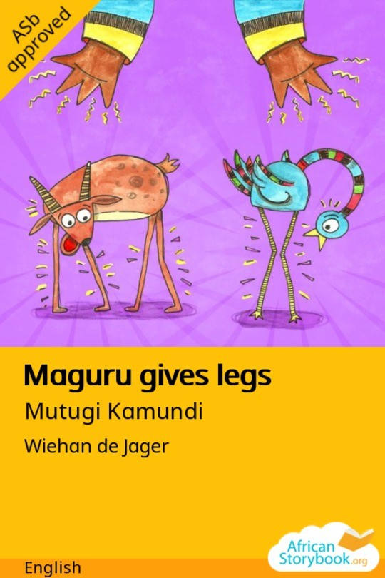 Maguru gives legs